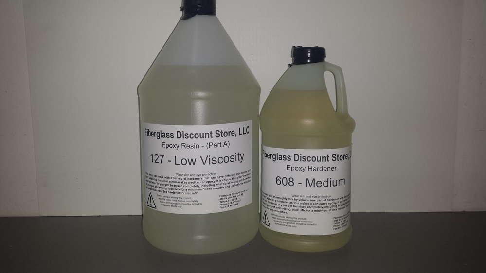 1 Gallon Set 2-1 Epoxy Resin